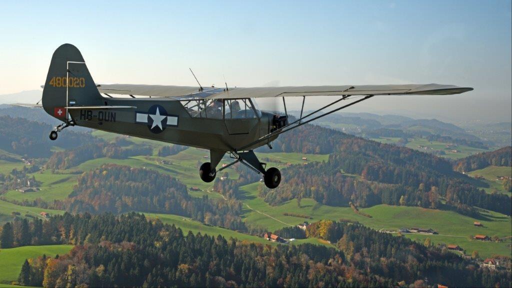 HB-OUN Piper J3C/L4 Cub