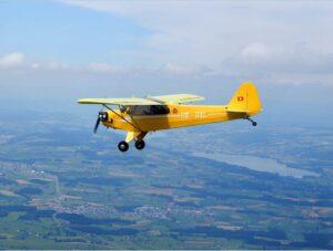 HB-OXL Piper Cub J3C-90