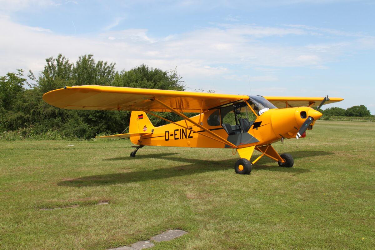 Piper PA-18-150 Supercub D-EINZ