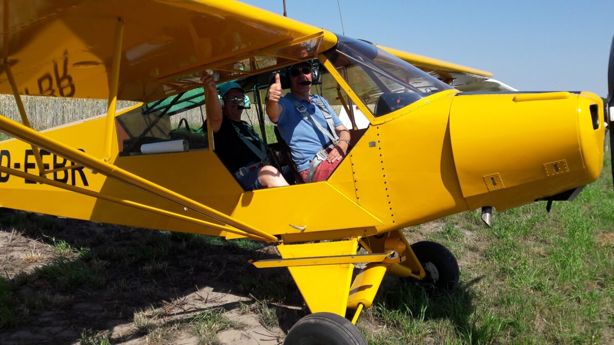 Piper PA-18C D-EFBR