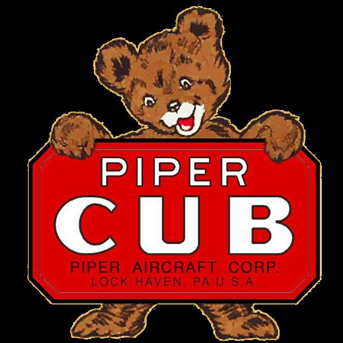 Piper Cub Bärchen